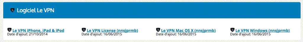 Plateformes compatible avec le logiciel LeVpn