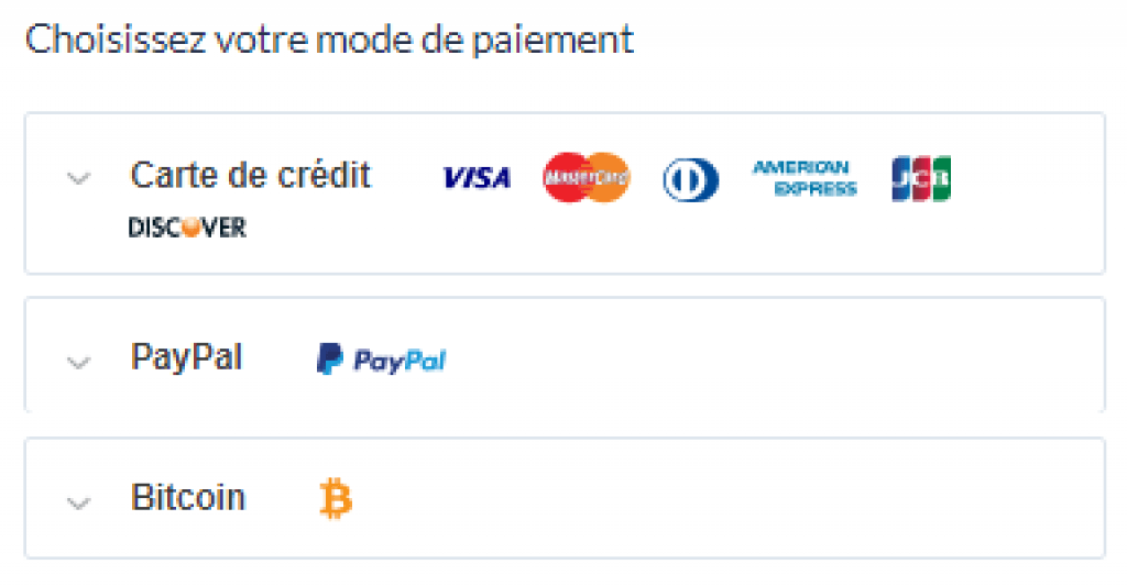 paiement safervpn