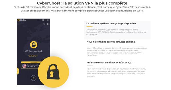 Avis CyberGhost