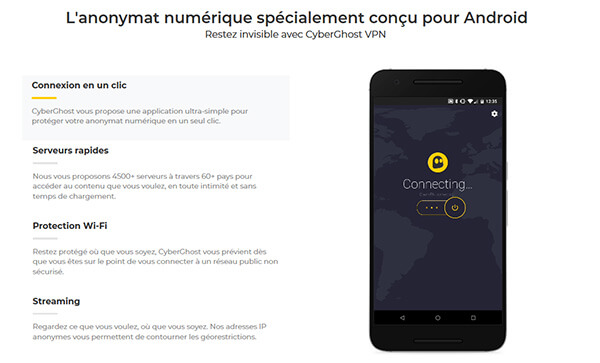 CyberGhost VPN Android