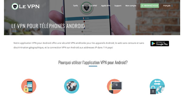 Le VPN Android