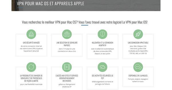 Le VPN Mac