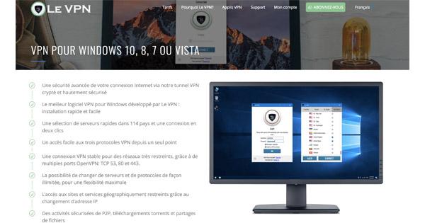 Le VPN Windows