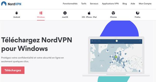 NordVPN VPN Windows