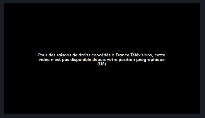 Blocage France 2 étranger