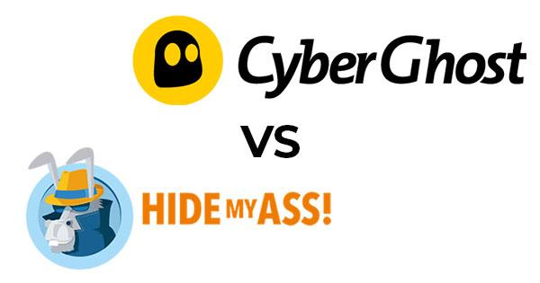 CyberGhost ou HideMyAss