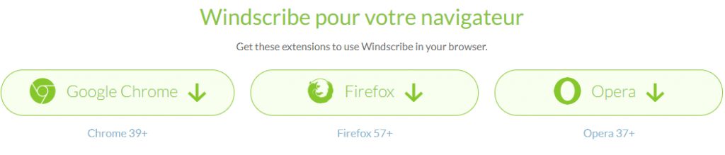 extention windscribe