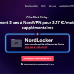Promotion Black Friday NordVPN