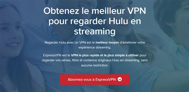 Débloquer Hulu avec ExpressVPN