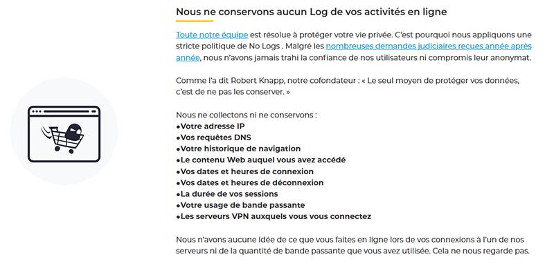 Logs CyberGhost