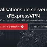 Serveurs ExpressVPN