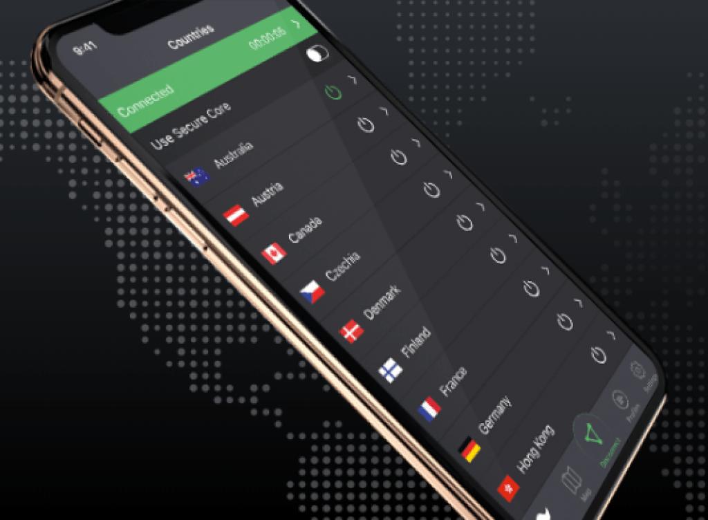 app mobile protonvpn
