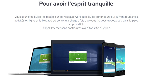 compatibles Avast SecureLine