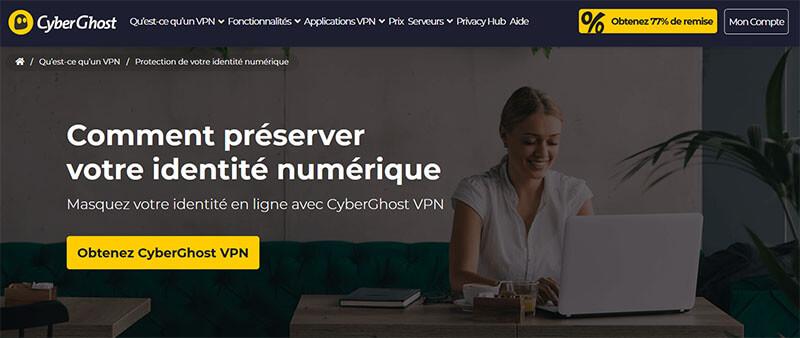 Anonymat en ligne CyberGhost