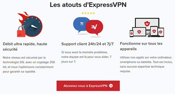 Atouts-ExpressVPN