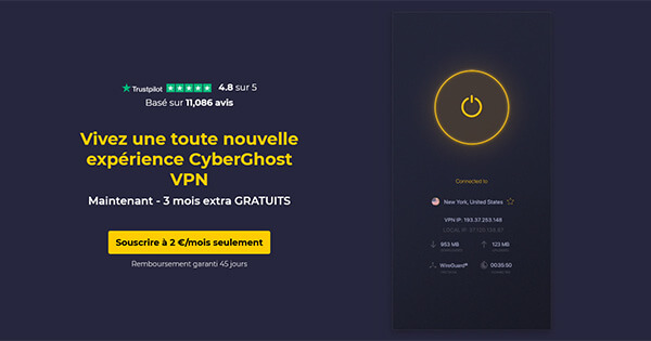 Présentation CyberGhost