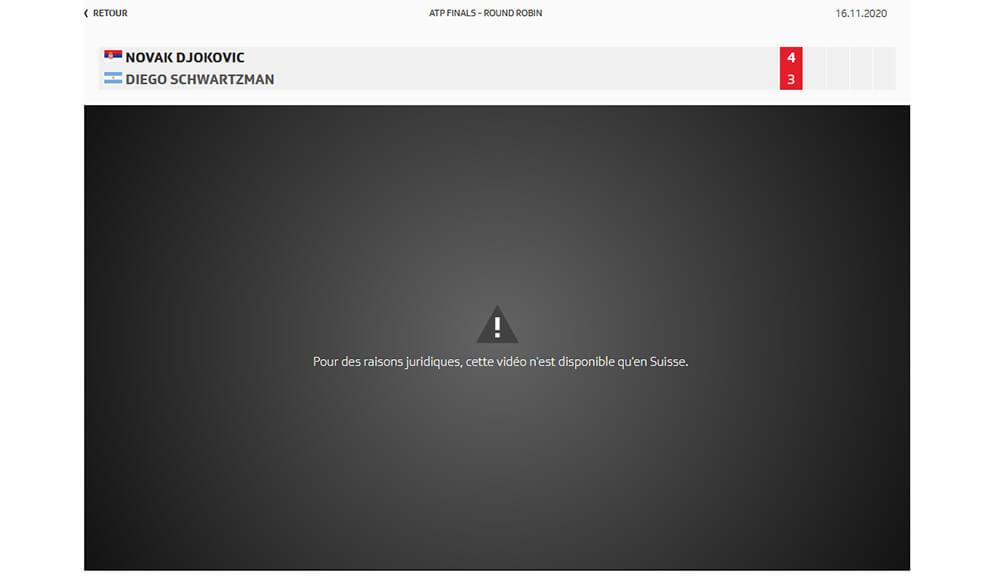Blocage RTS en France