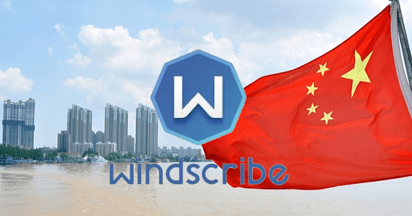 windscribe en chine