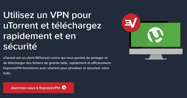 uTorrent ExpressVPN