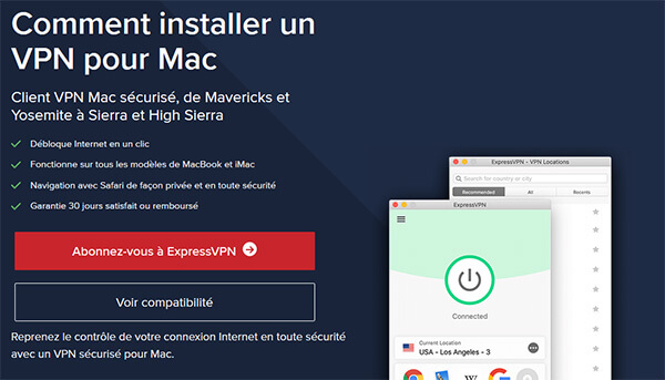 ExpressVPN VPN Mac