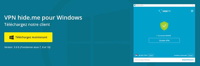 Windows Hide me
