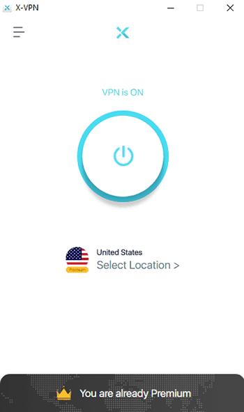 Application X VPN