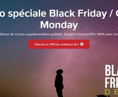 Black Friday et Cyber Monday 2018 chez ExpressVPN : quelles promos ?