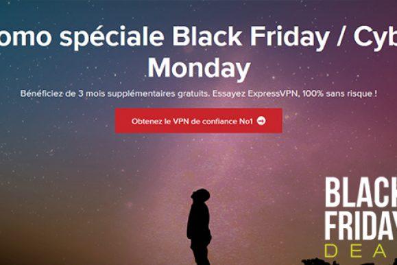 Black Friday et Cyber Monday 2019 chez ExpressVPN : quelles promos ?