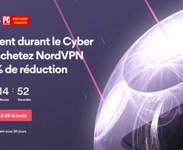 Black Friday et Cyber Monday 2018 chez NordVPN : quelles promos ?