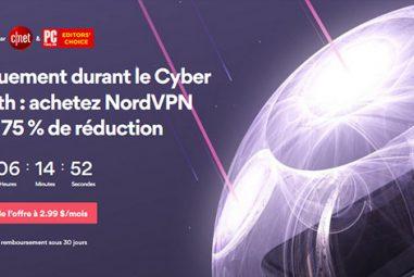 Black Friday et Cyber Monday 2019 chez NordVPN : quelles promos ?