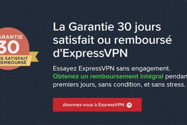 Existe-t-il une offre gratuite chez le fournisseur ExpressVPN ?