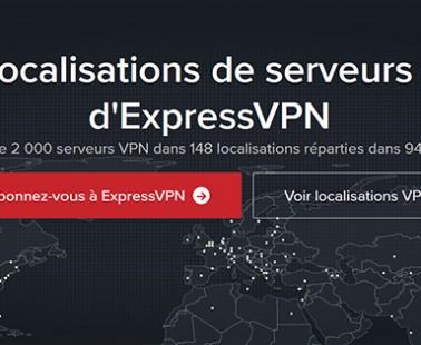 ExpressVPN : nombre de serveurs déployés actuellement