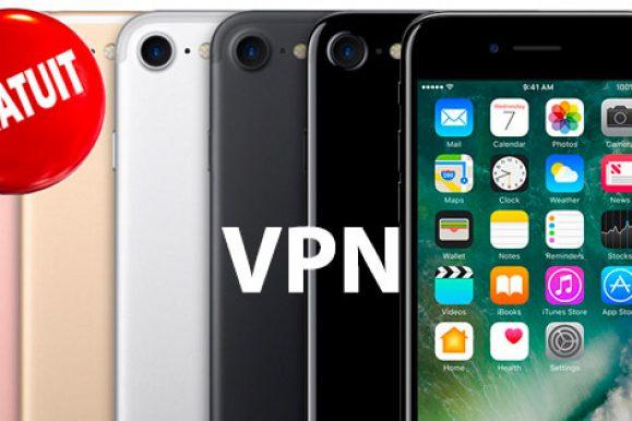 Top 3 meilleur VPN gratuit iPhone en 2019 : quel fournisseur choisir ?