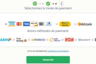 Moyens de paiement chez Le VPN : quelles sont les options
