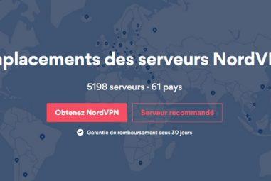 Combien de pays sont couverts par NordVPN actuellement ?